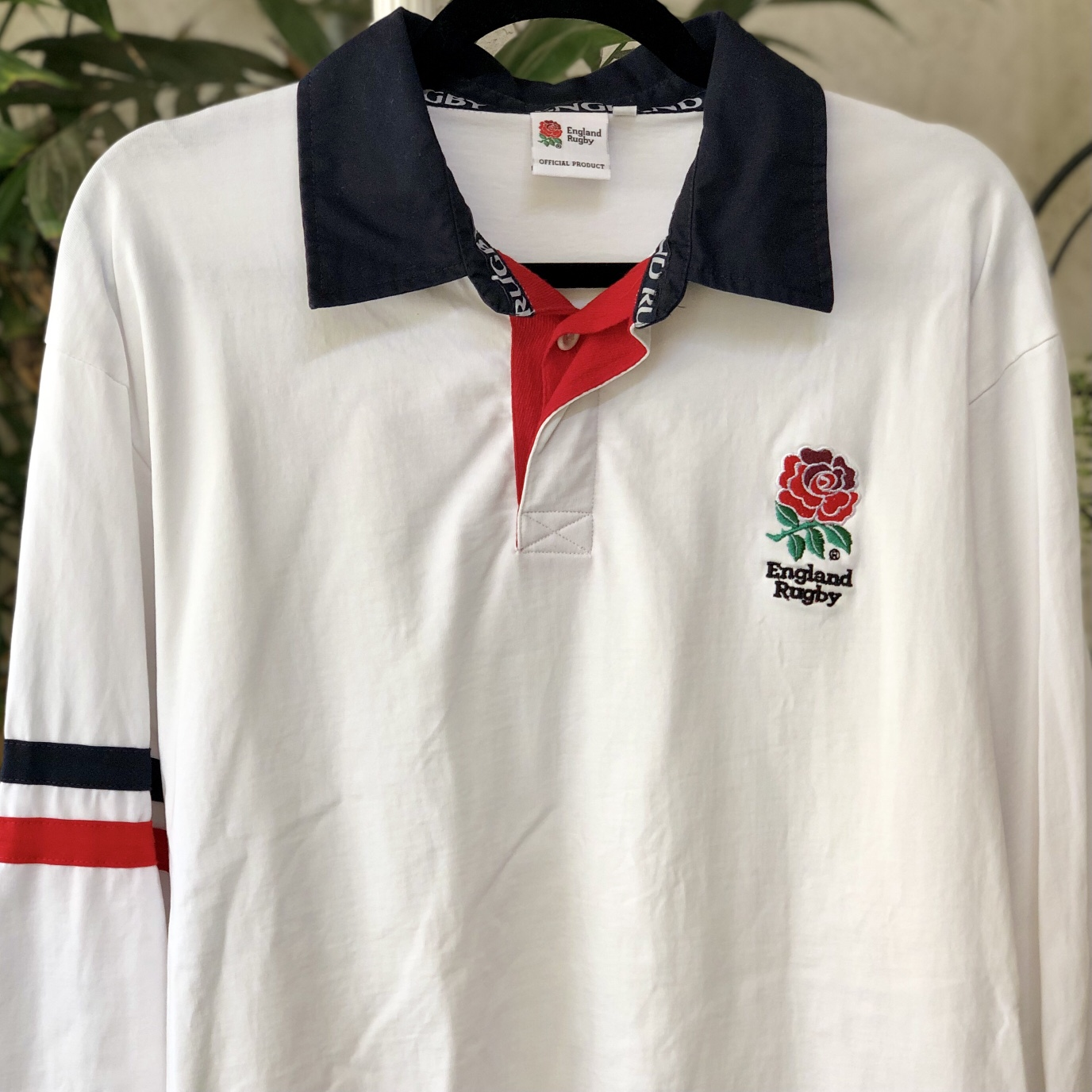 Product Image 1 - England Rugby Long Sleeve Polo