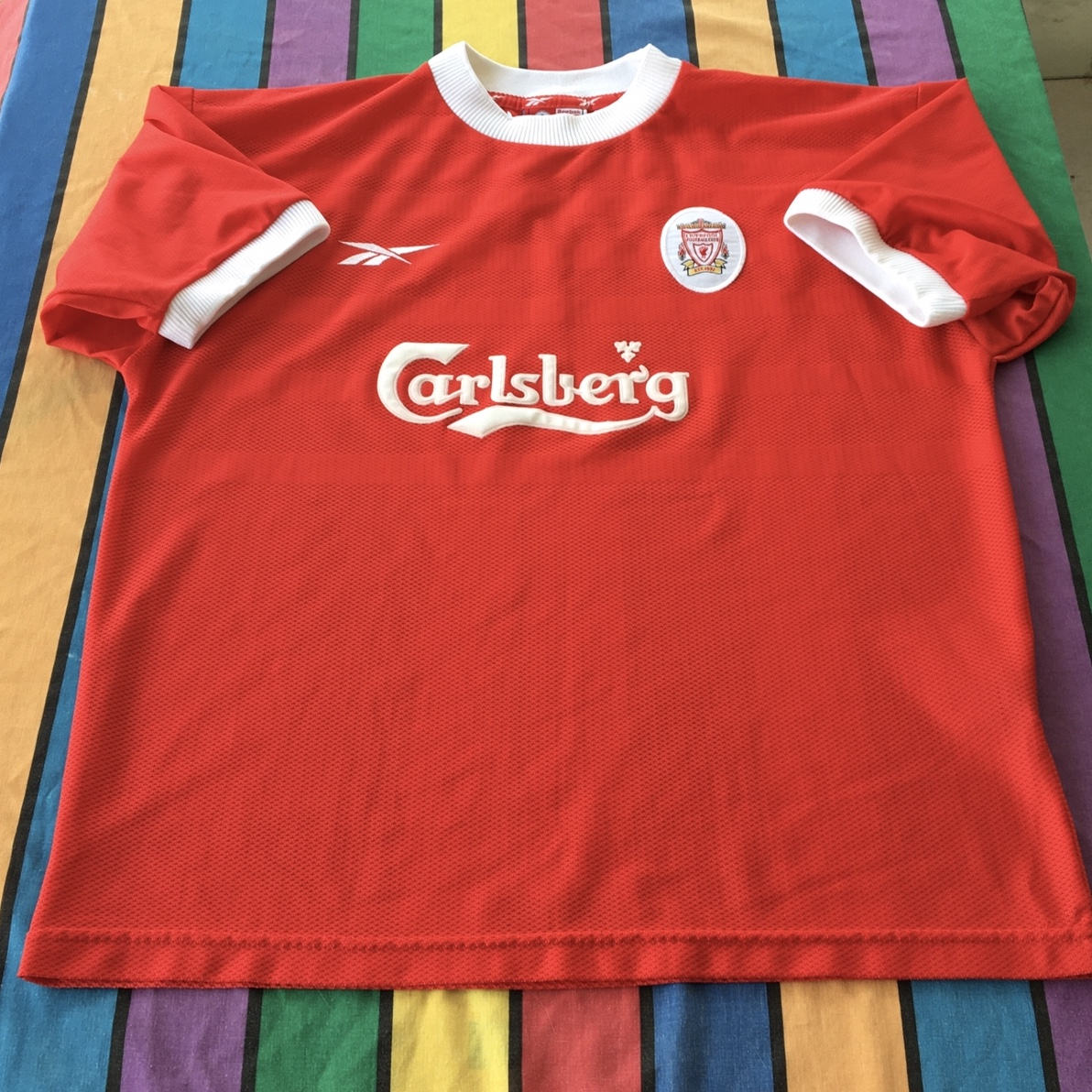Product Image 1 - Vintage soccer/football Jersey Carlsberg from UK