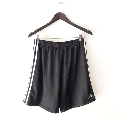 c6e71d459 90s Adidas mesh shorts with drawstring waist Size M 18 to 8 - Depop