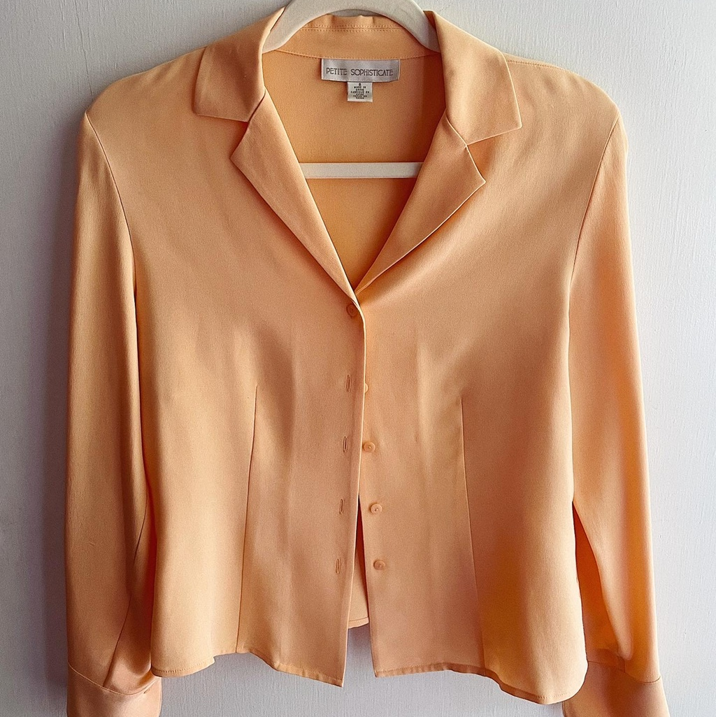 Product Image 1 - Gorgeous peachy pink button down,