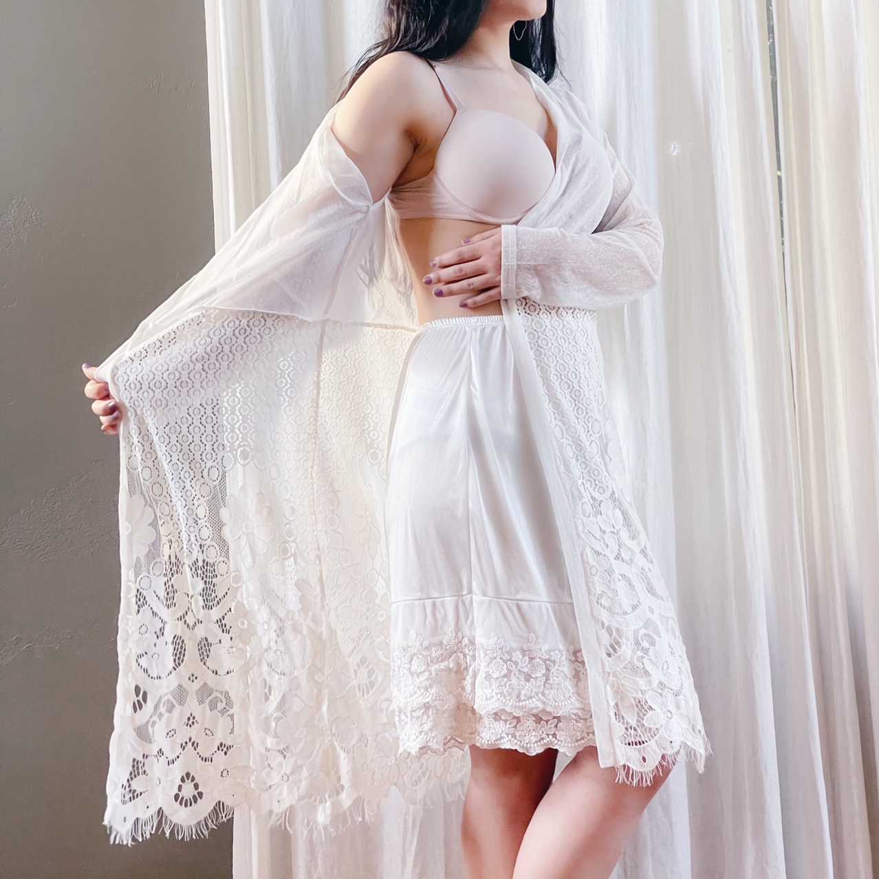 Product Image 1 - Long white lace cardigan   Perfect