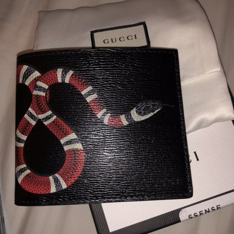 bd6affdeb @kian_kennedy. last month. Ayr, United Kingdom. Gucci snake wallet. Selling  cheap as unwanted gift