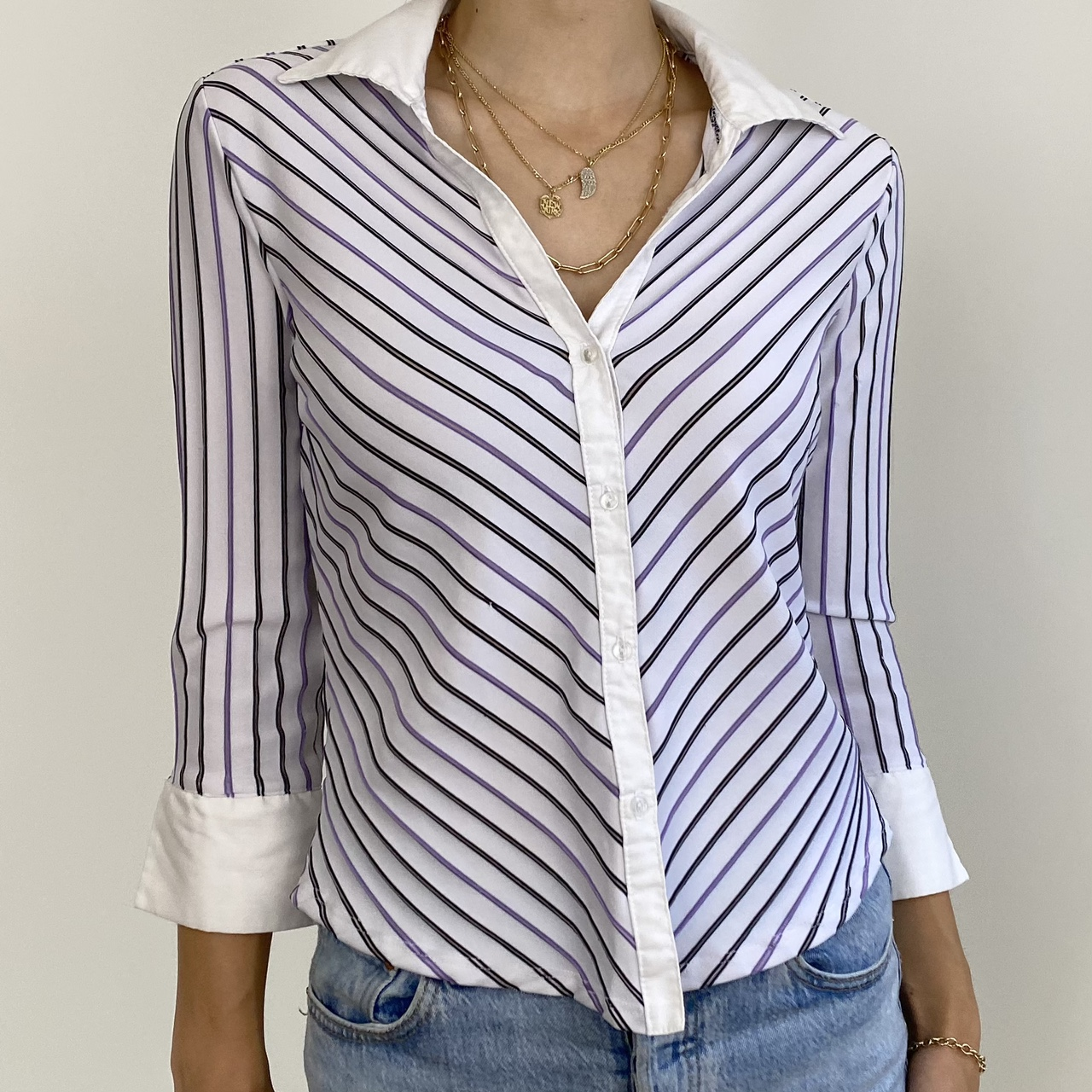 Product Image 1 - Incredible vintage 90s pin stripe
