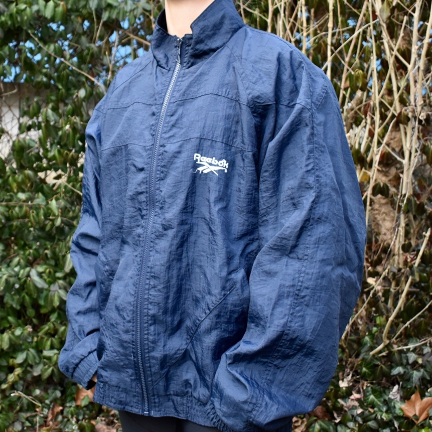 Product Image 1 - Vintage Reebok Windbreaker  Size: Large Condition: Worn Color: