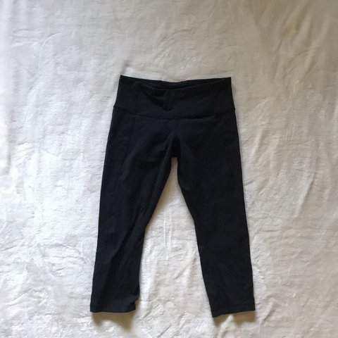 b785ce21a4 Lululemon Black Capris In good condition! I wore this one - Depop