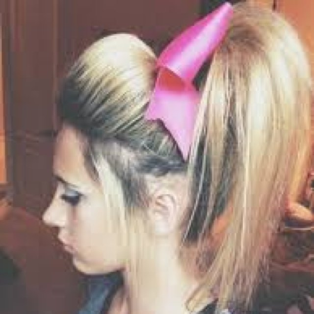 cool anime hairstyles : Quiff Booster Never Used Cheer Hairstyles For Competition