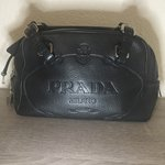 1e10aac07a9f2a Prada Candy Satin Makeup Cosmetic Hot Pink Hot Pink Zipper - Depop