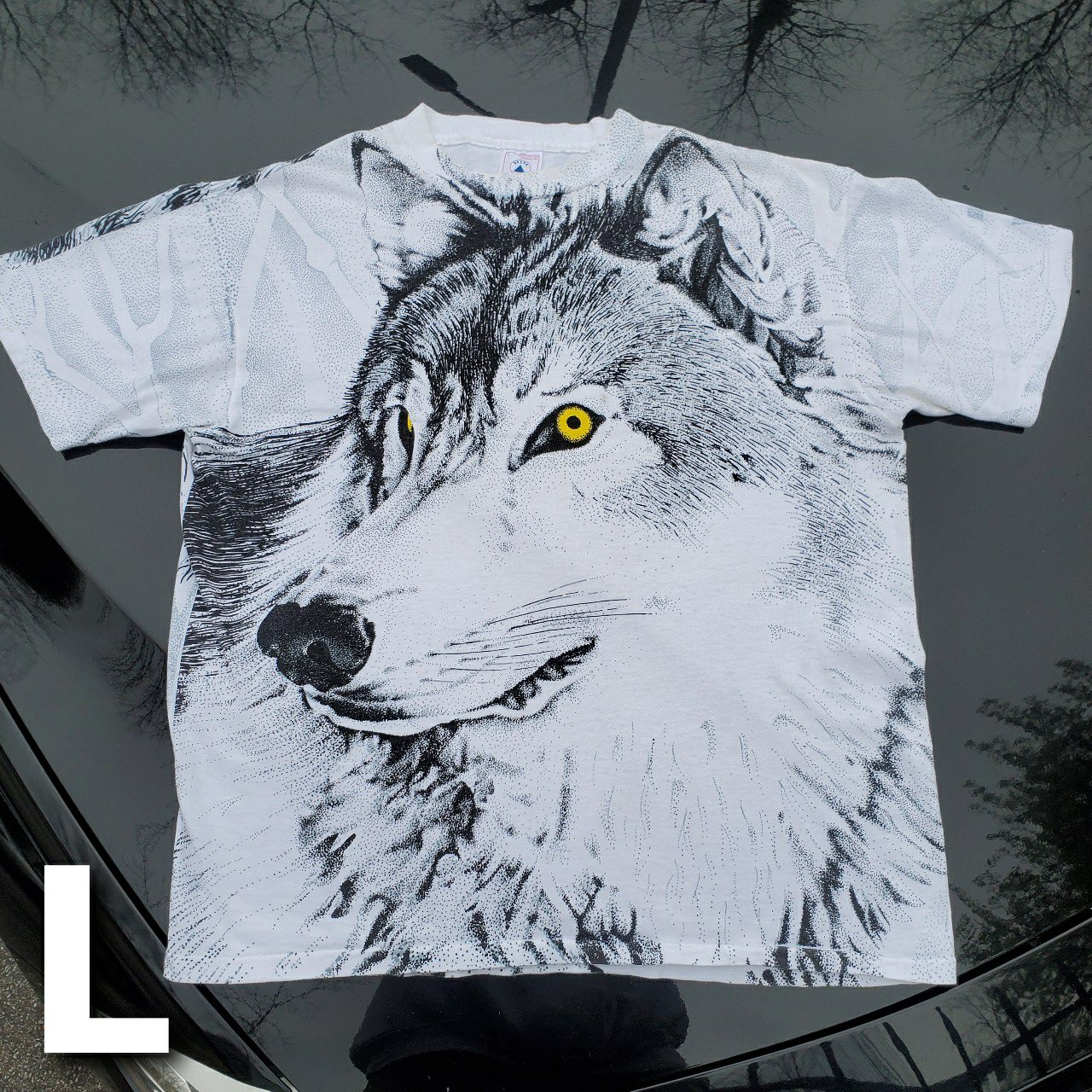 Product Image 1 - Vintage 90's Wolf Head and