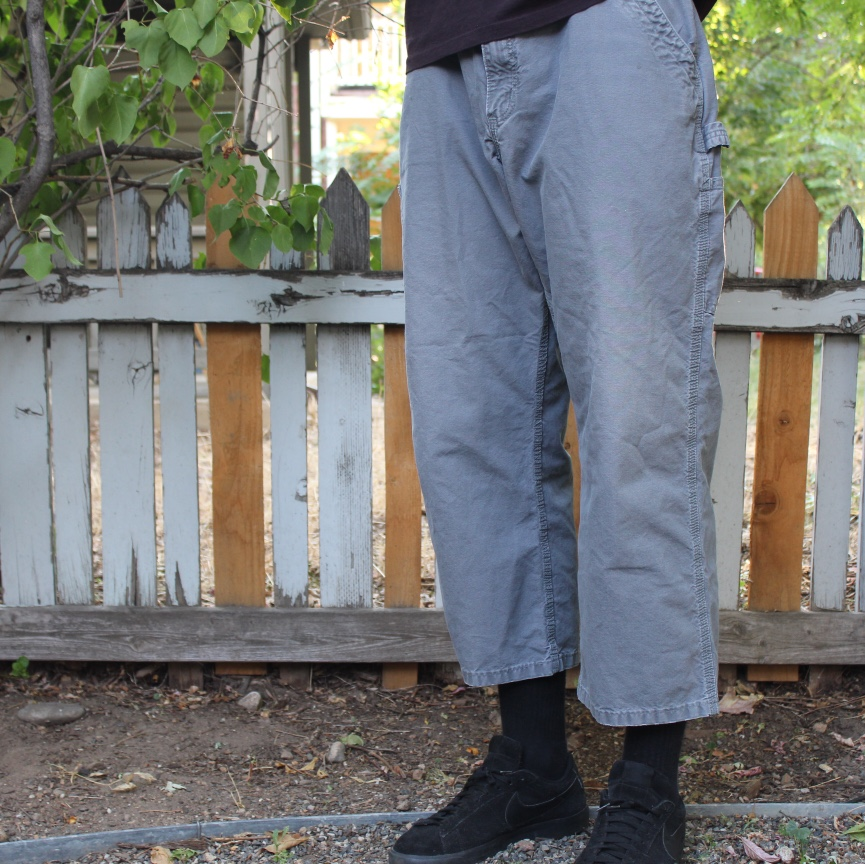 Product Image 1 - Carhartt carpenter pants great condition -grey
