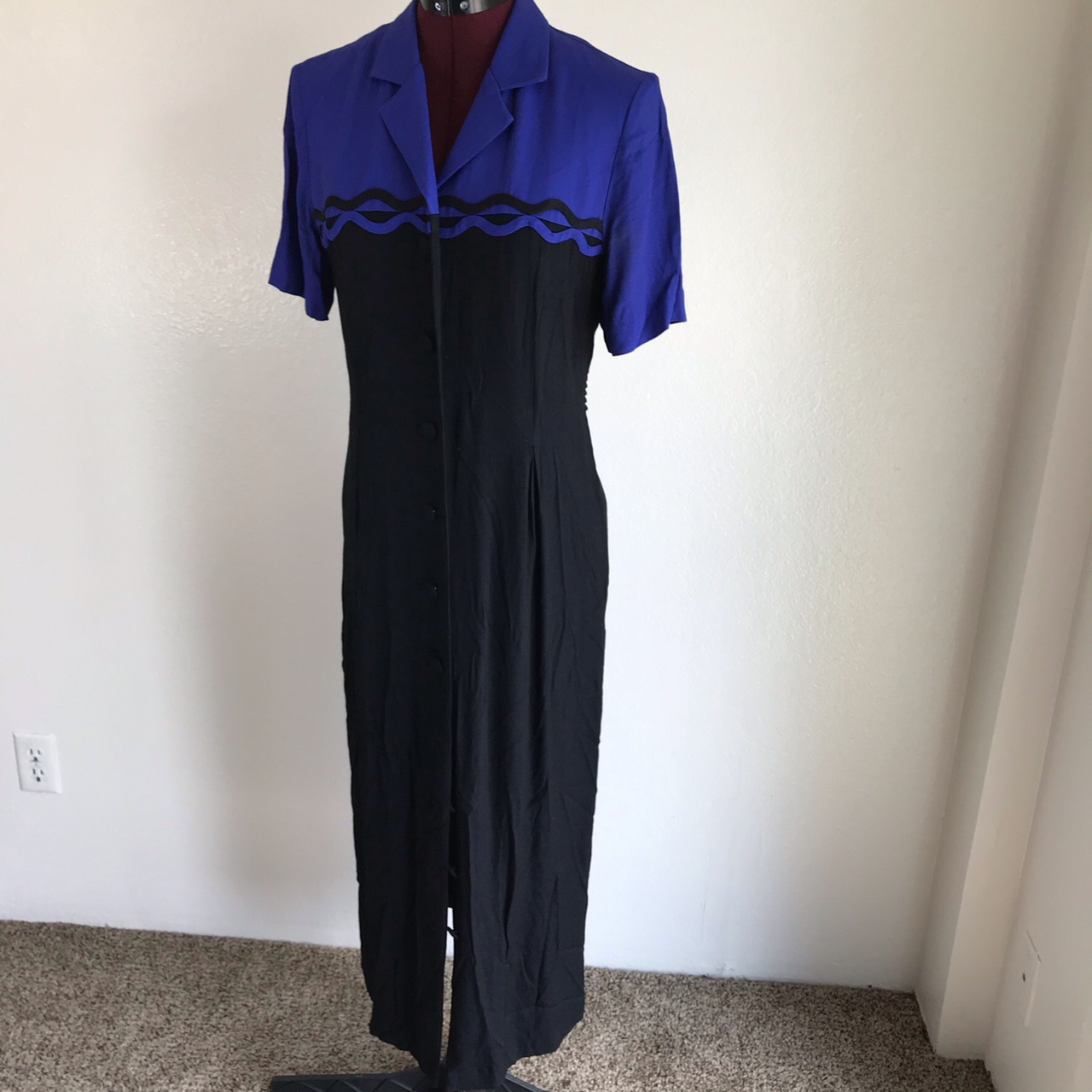 Product Image 1 - 1980s vintage black and blue