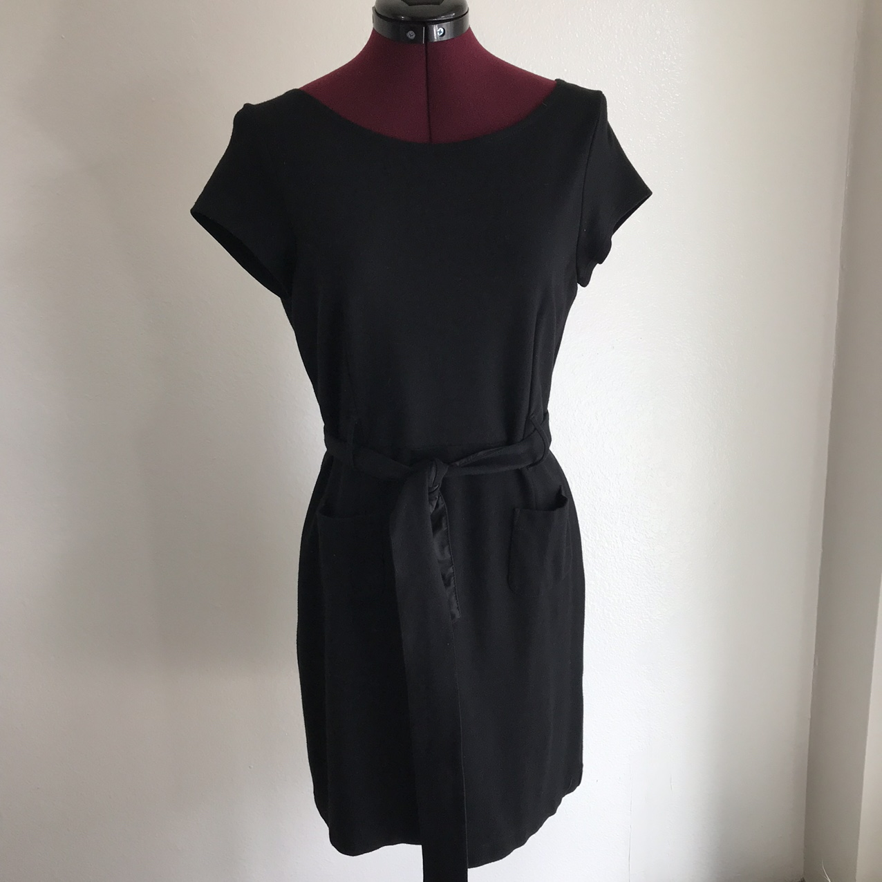 Product Image 1 - 1990s jersey knit black knee
