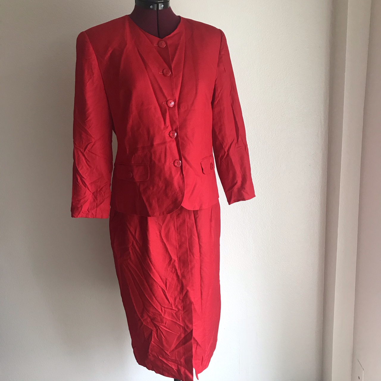 Product Image 1 - Y2k Talbots Petites red power