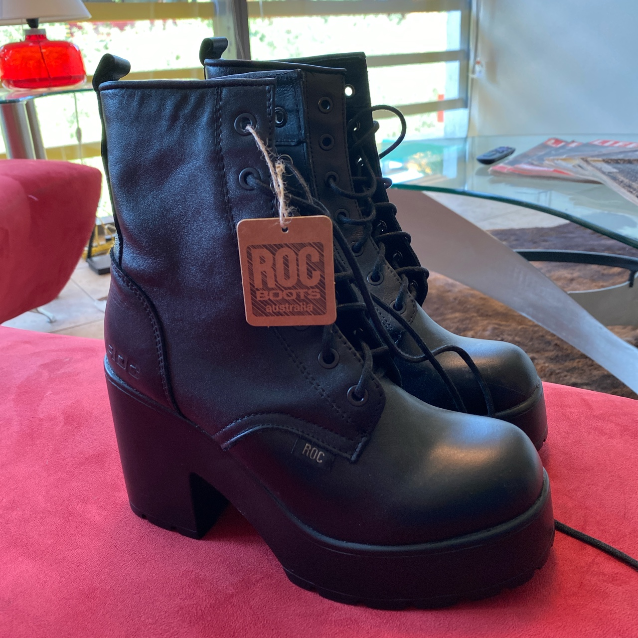 Product Image 1 - Roc boots from Australia never