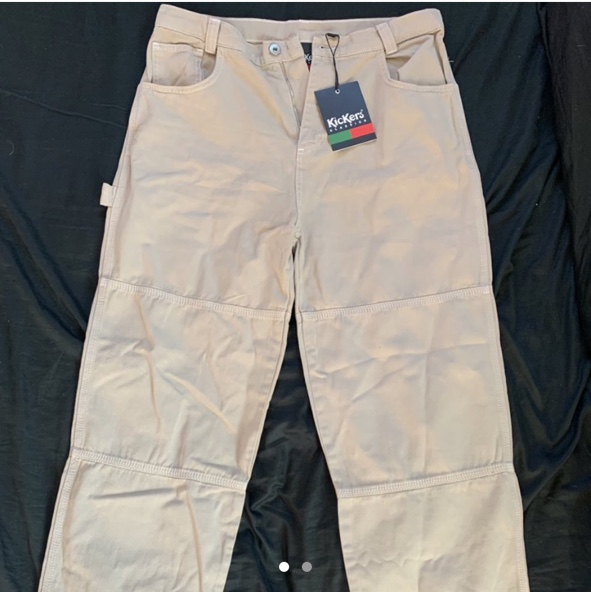 Product Image 1 - KICKERS BEIGE DRILL PANT- from