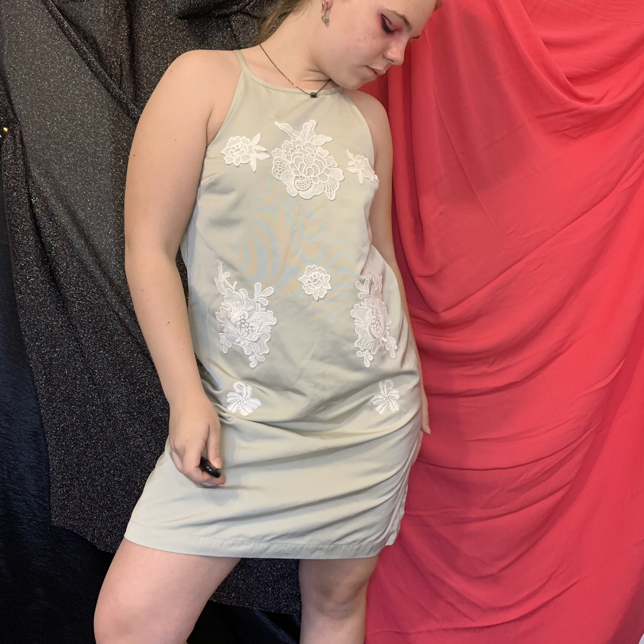 Product Image 1 - Sage green formal dress with