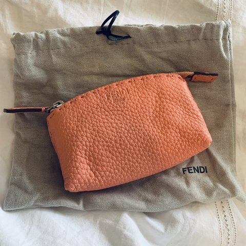 ab6dc03b07 Blush pink/ Looks alittle Peach too! The most adorable FENDI - Depop