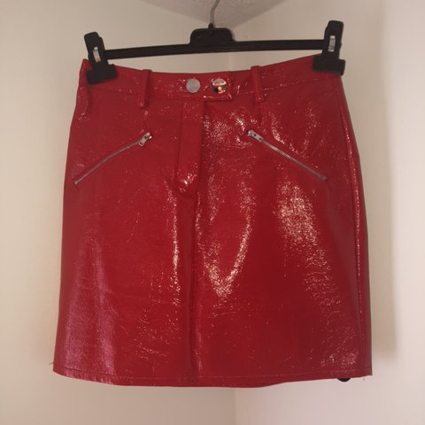 ffa60f034 @yasmin_olivia. 8 days ago. Stoke-on-Trent, United Kingdom. pretty little  thing red leather skirt🍒 brand new with tags ...
