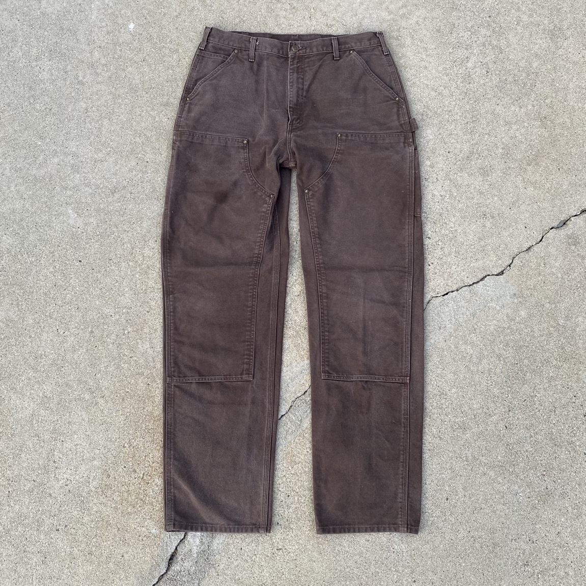 Product Image 1 - Chocolate Brown Carhartt Double Knee