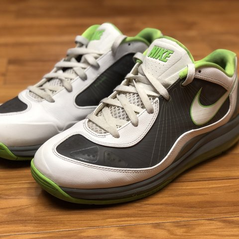 077c9aa4b3 @popcornerboutique. 4 days ago. El Cajon, United States. NIKE AIR MAX 360  BB LOW BASKETBALL WHITE COOL GREY ELECTRIC GREEN ...