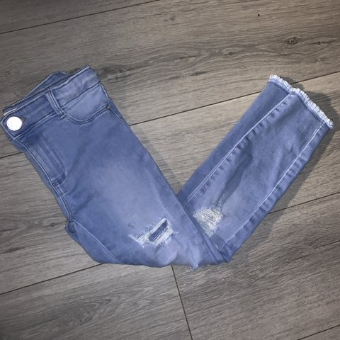 quality design fresh styles promo code River island girls skinny ripped jeans. Age 6. Worn once - Depop