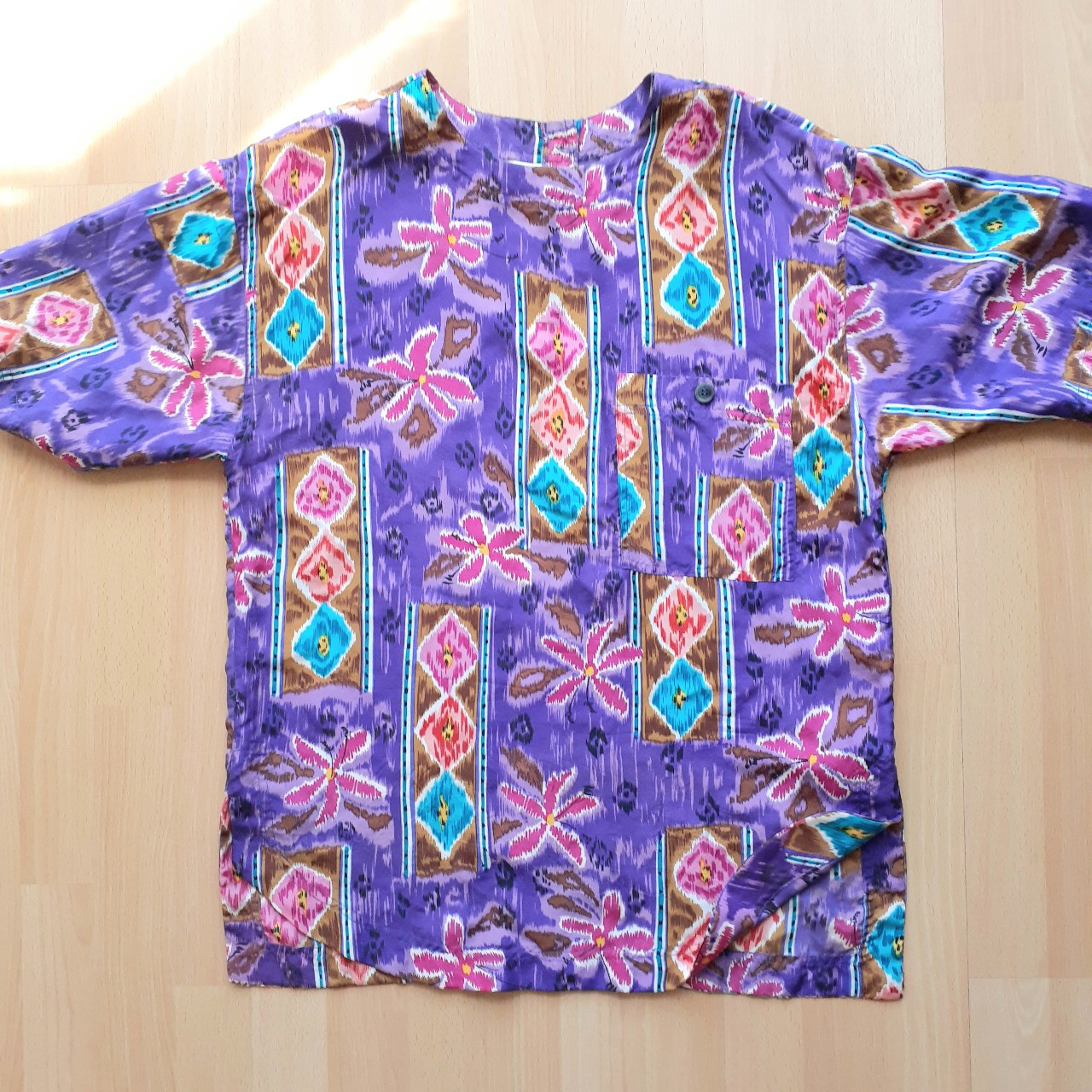 Product Image 1 - 100% Silk purple color with