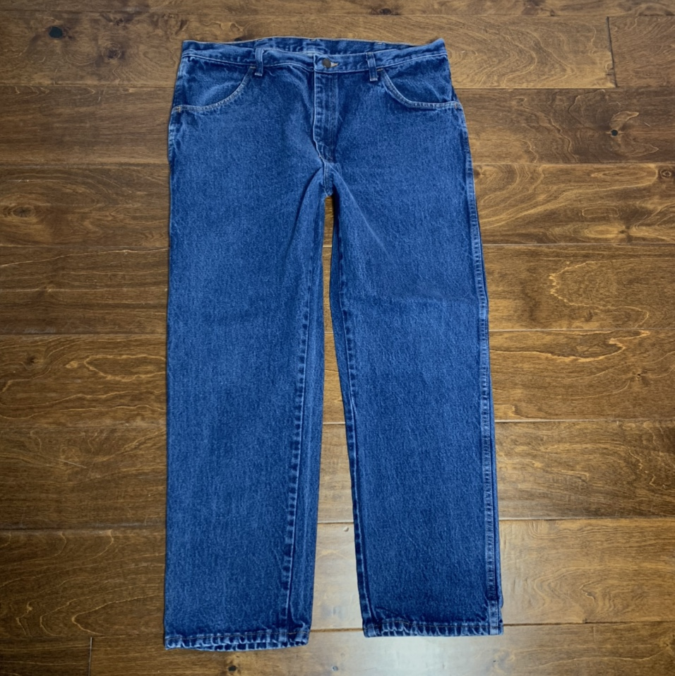 Product Image 1 - vintage 90s rustler jeans faded