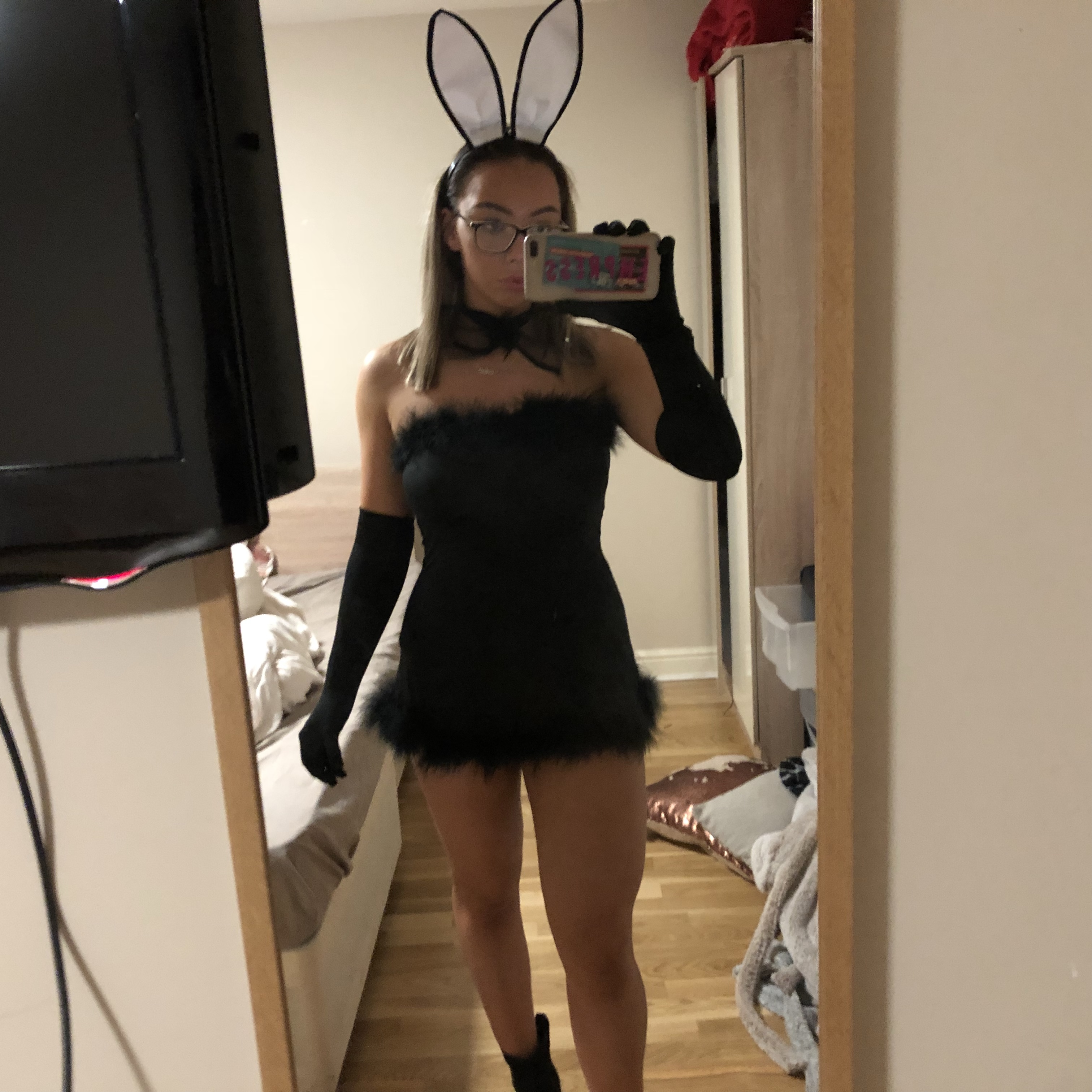 Sexy playboy bunny outfit