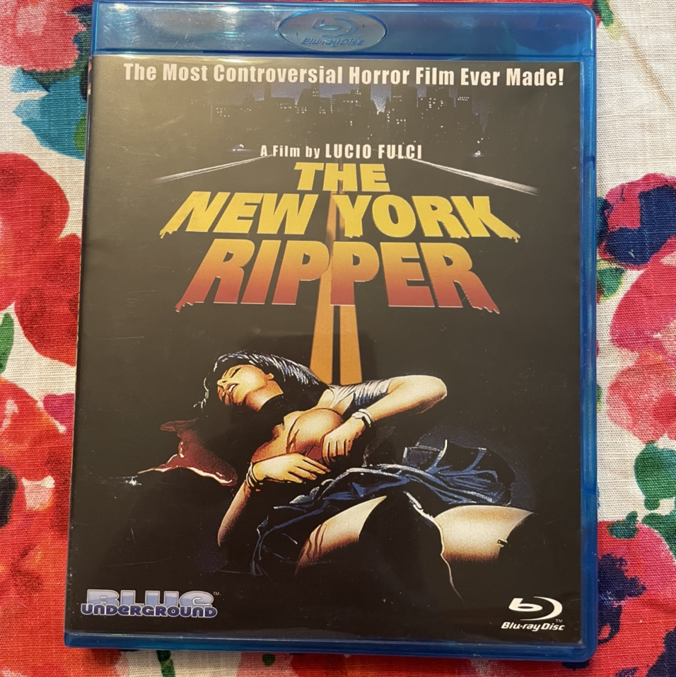 Product Image 1 - New York Ripper blu ray