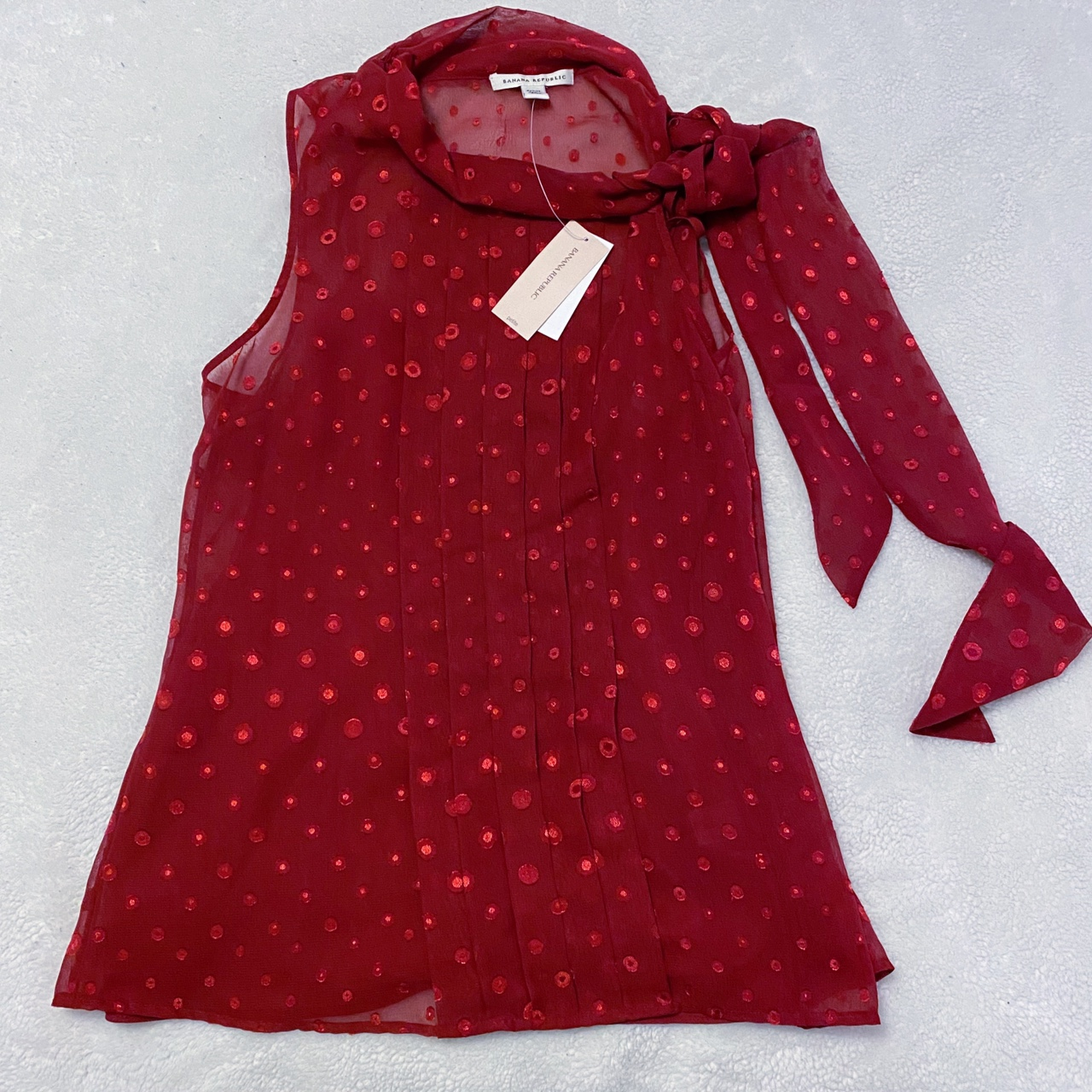 Product Image 1 - ★ red polka dot blouse