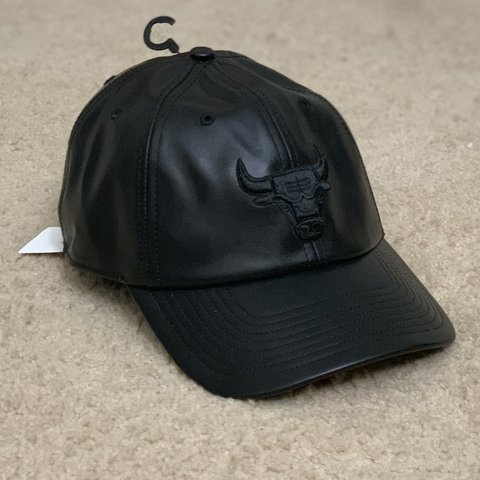 e121ae877a85db @drea1306. in 3 hours. Barrington Hills, United States. NWT '47 Brand X UO  Chicago Bulls Faux Leather Baseball Hat!
