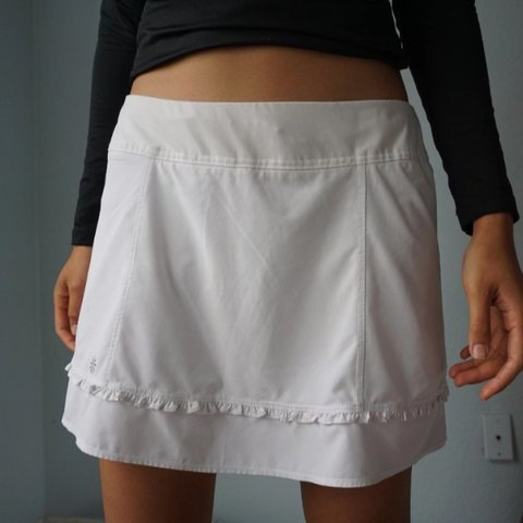 0ba4837e1e @jennifergal. 28 days ago. San Bernardino, California, US. Athleta Exercise  Skirt Skort White Tennis Golf Medium