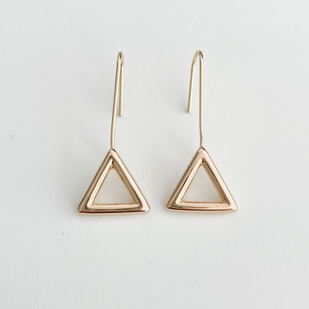 Product Image 1 - Gold Geometry Hoops   14K gold