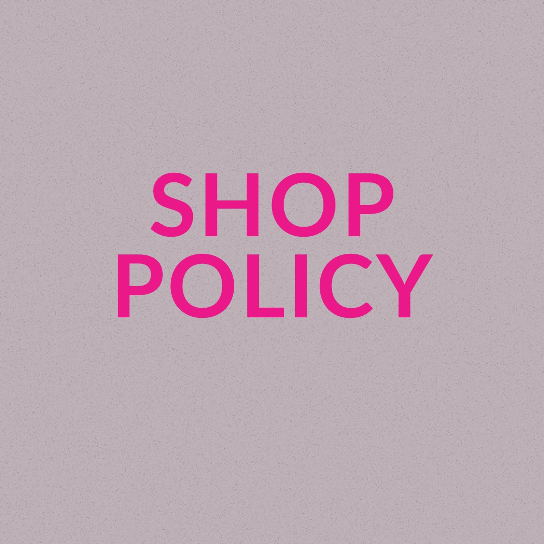 Product Image 1 - SHOP POLICY PLEASE READ BEFORE