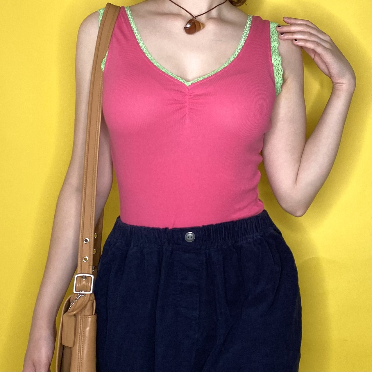 Product Image 1 - vintage y2k pink and green