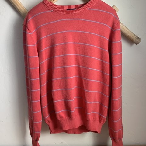 03df252747 Vintage 80s preppy sweater by Brooks Brothers! A pinky shade - Depop