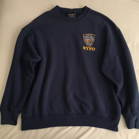 fd5c37621 @extendedrelease. 21 days ago. Los Angeles, United States. Vintage NYPD  Sweater Official NYPD licensed product. Size: XL