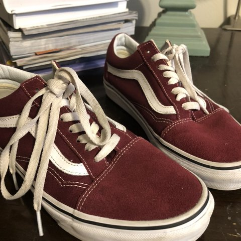 d0e7bf70a4fe @hmongoy. yesterday. Tallahassee, United States. MAROON/GARNET OLD SKOOL LOW  TOP VANS