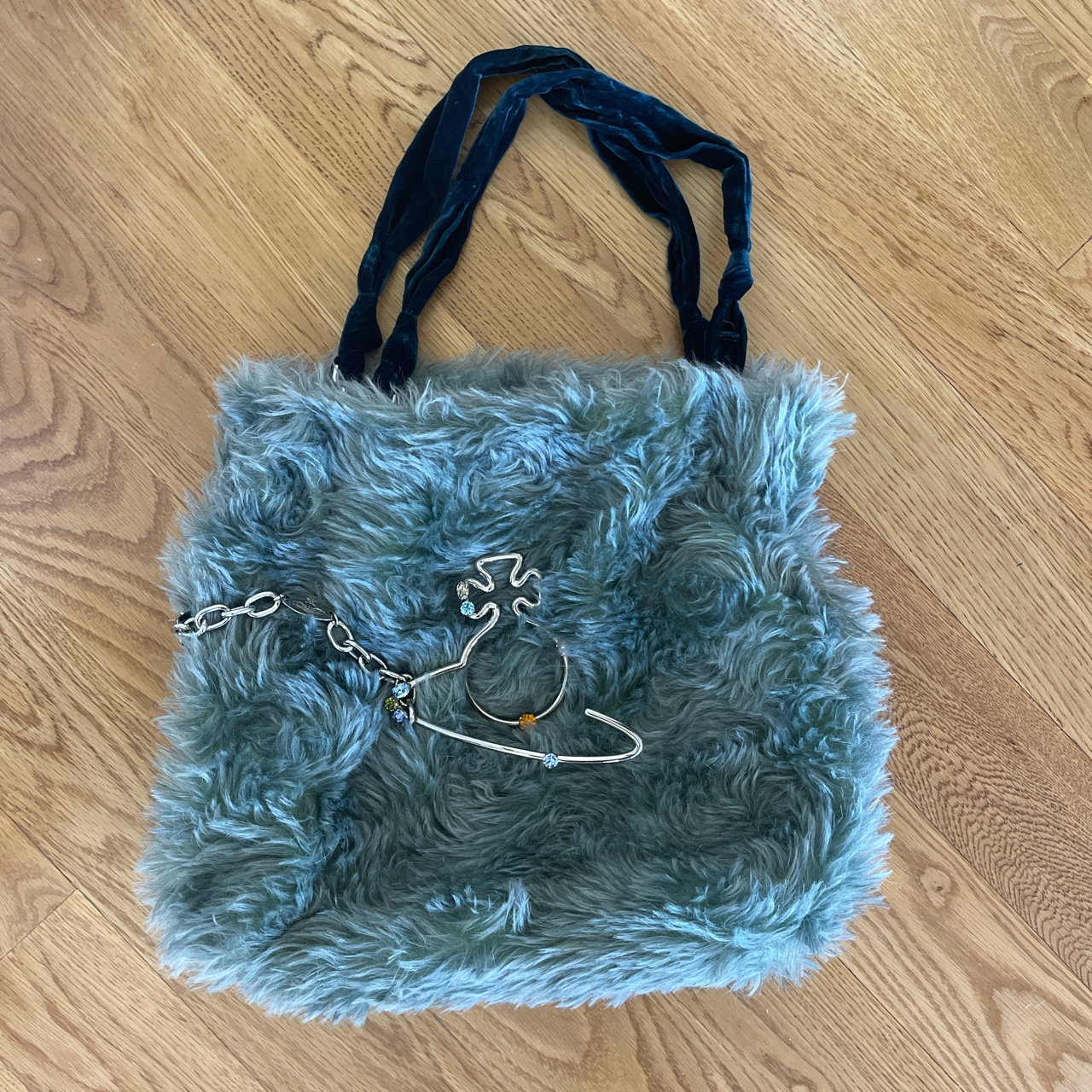 Product Image 1 - fuzzy Vivienne westwood tote bag.
