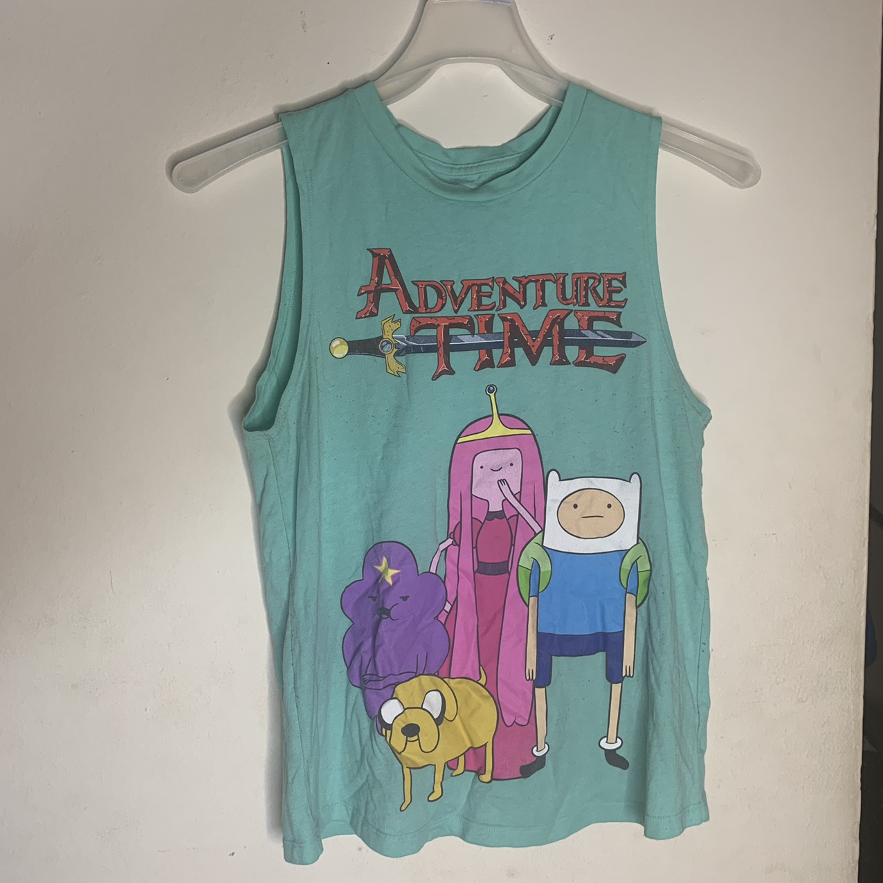 Product Image 1 - Adventure Time Muscle Tee/Tank Top  Size
