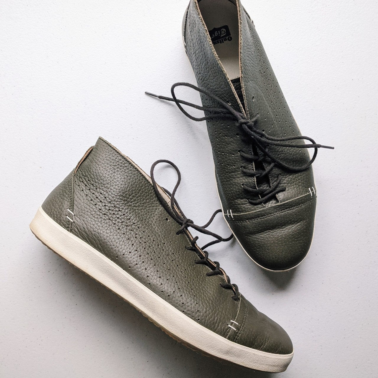 Product Image 1 - Onitsuka Tiger Colesne shoes⚡  Olive green