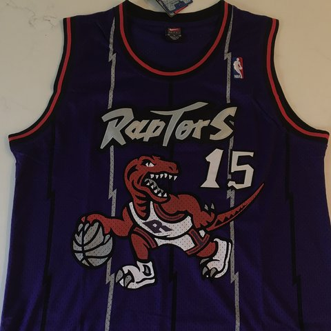 128e9d69aa4 @jersey_cvltvre. 13 days ago. New Albany, United States. Vince Carter  Toronto Raptors Purple Throwback Jersey