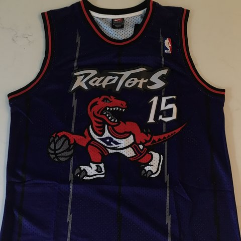 a5e17fc5ad0 @jersey_cvltvre. yesterday. New Albany, United States. Vince Carter Toronto  Raptors Purple Mesh Throwback Jersey