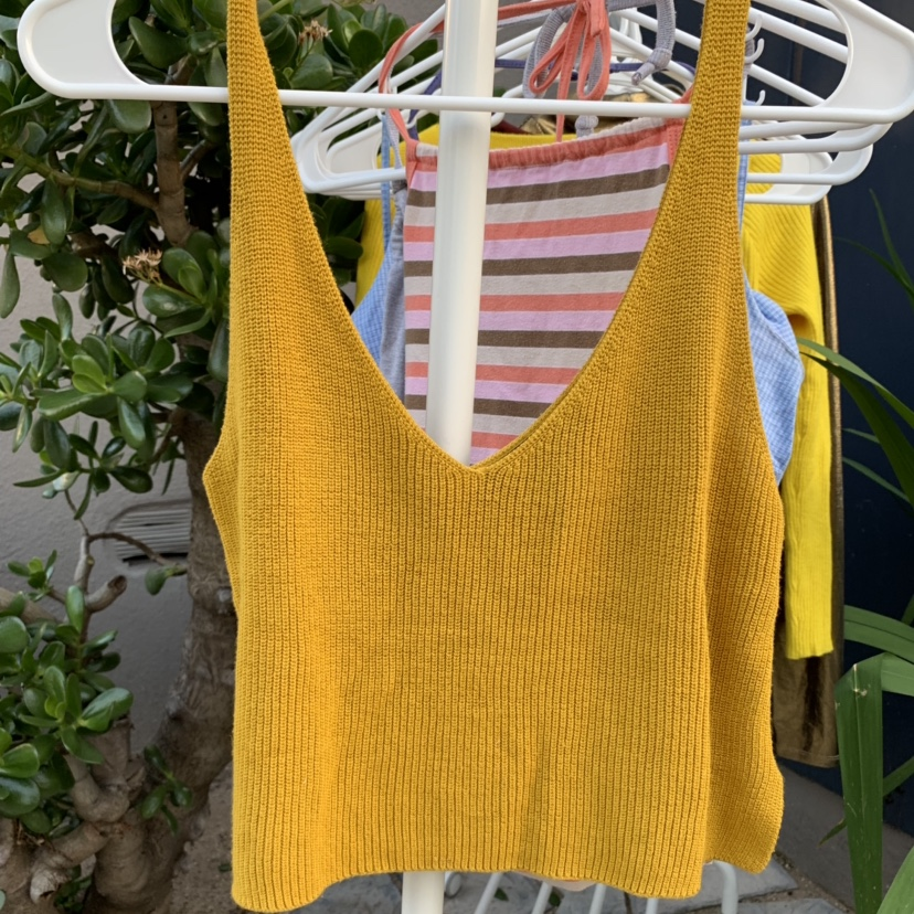 Product Image 1 - FOREVER 21 MUSTARD YELLOW TANK TOP🌞