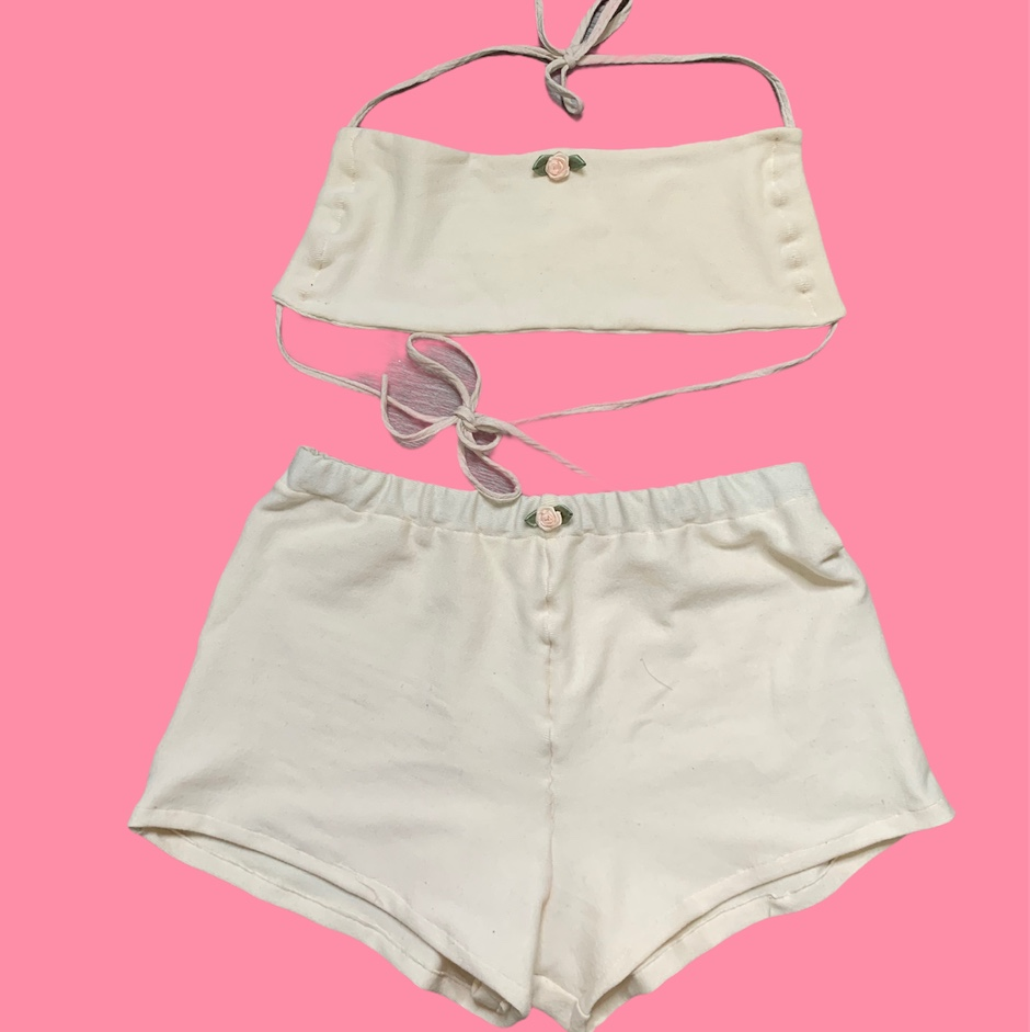 Product Image 1 - Claire shorts set in cream