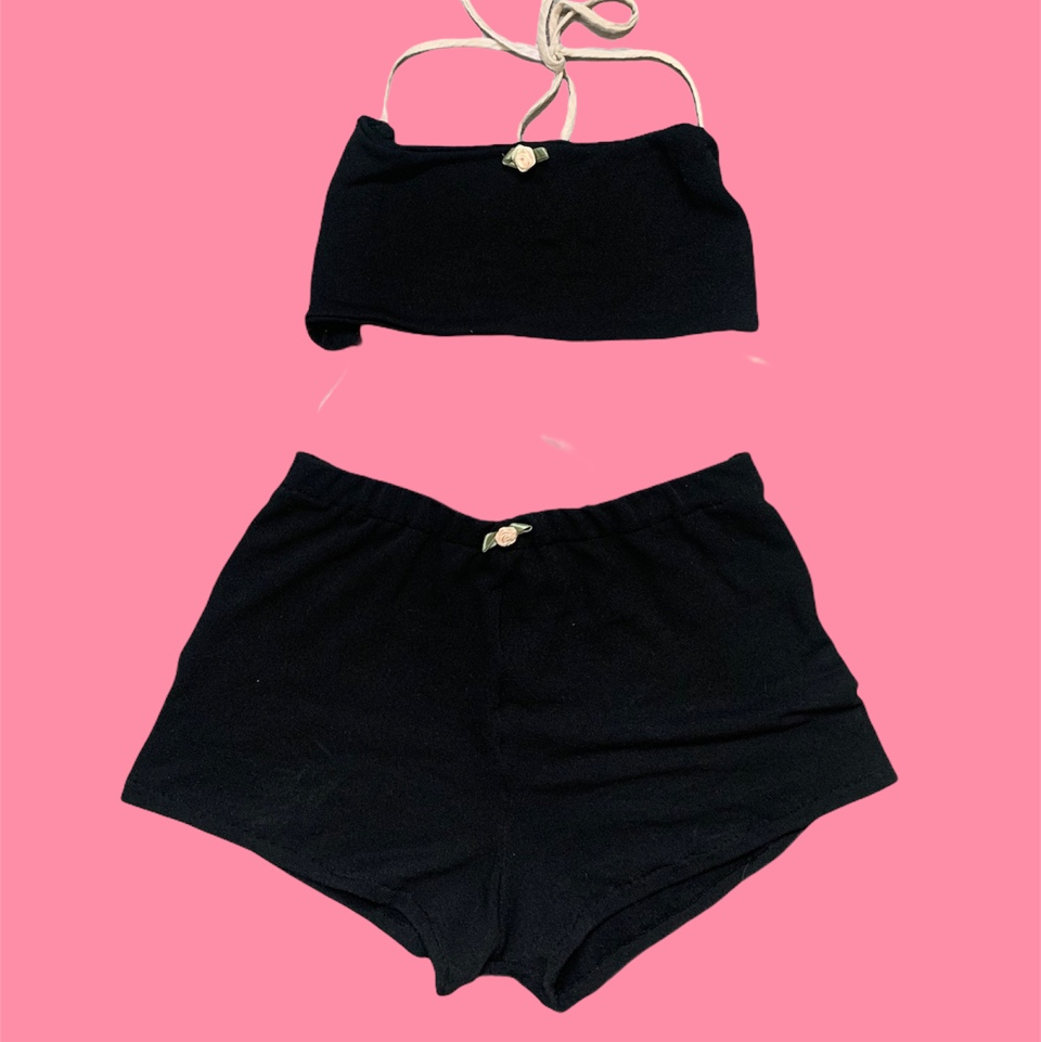 Product Image 1 - Claire shorts set in black
