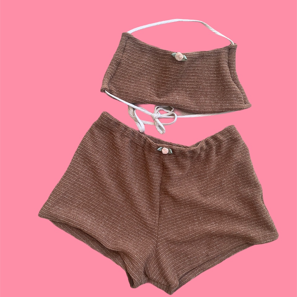 Product Image 1 - Claire shorts set in brown