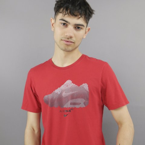162daedfd @tvcvintage. in 14 hours. Wrexham, United Kingdom. Vintage Nike Air Max  Trainer Spell Out t-shirt ...