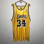 cea8aece1ae Champion Robert Horry Lakers Jersey! Size 44 - Depop