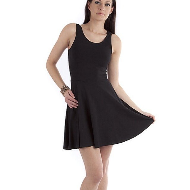Black sleeveless dress - All Pictures top
