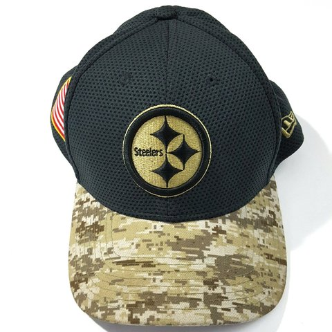 low cost 8c071 0dc0f  westcoast3120 . last month. Illinois, US. New Era Pittsburgh Steelers  39Thirty NFL Salute to Service Sideline Hat Size L XL ...